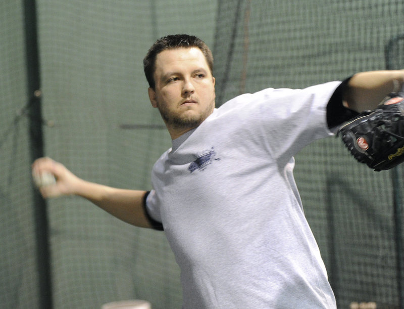 Mike MacDonald has made it as high as Triple-A in the Blue Jays and Angels systems during a minor league career that started in 2004.