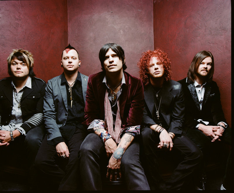 Hinder, playing Wednesday at the State, will also appear with Saving Abel and My Darkest Days.