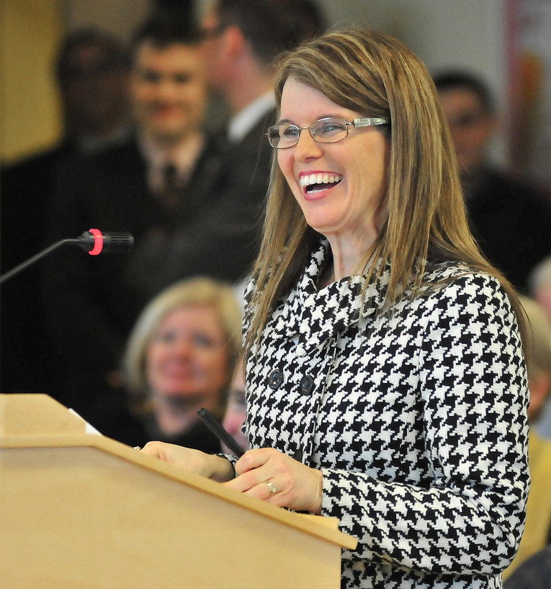 Mary Mayhew has been confirmed as commissioner of the Maine Department of Health and Human Services.
