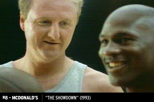 "Bird and Jordan ""Showdown"" for McDonald's"