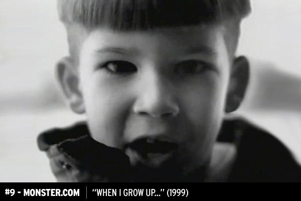 """When I Grow Up"" for monster.com"