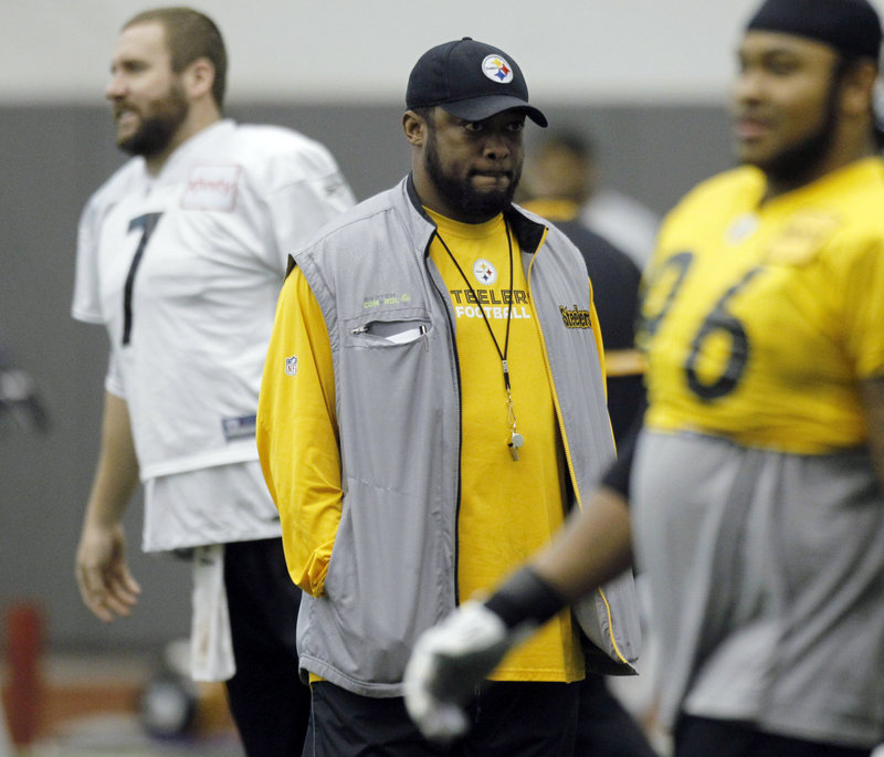 When the Pittsburgh Steelers hire a coach, they keep him for years. Because he wins. Mike Tomlin, already a Super Bowl winner at 38, also figures to be there for years.