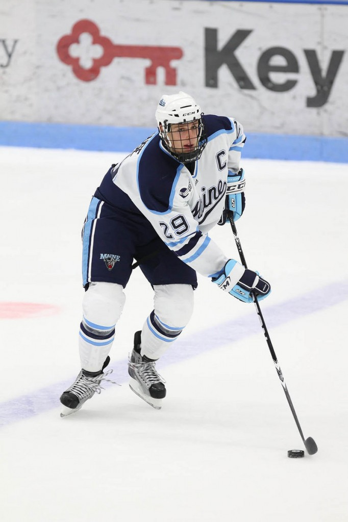 Tanner House welcomes the challenge of trying to help the UMaine hockey team end its slump and head into the postseason on an upswing.