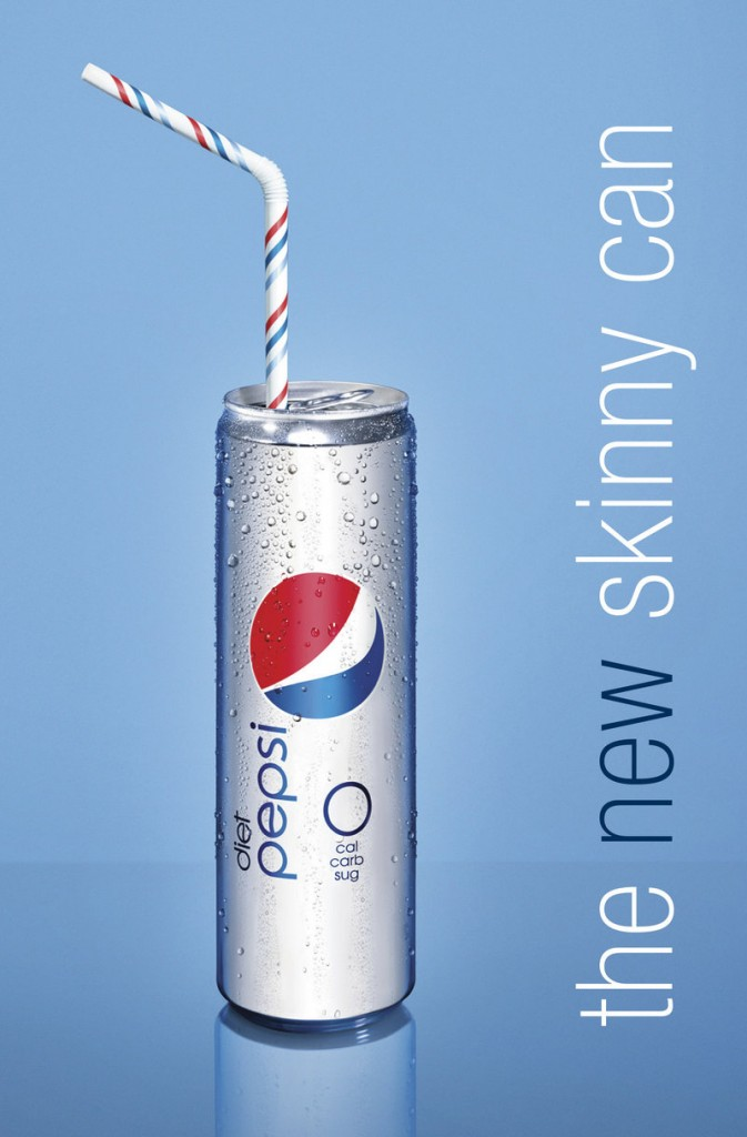 """The new Diet Pepsi can was made in """"celebration of beautiful, confident women,"""" according to PepsiCo Inc."""
