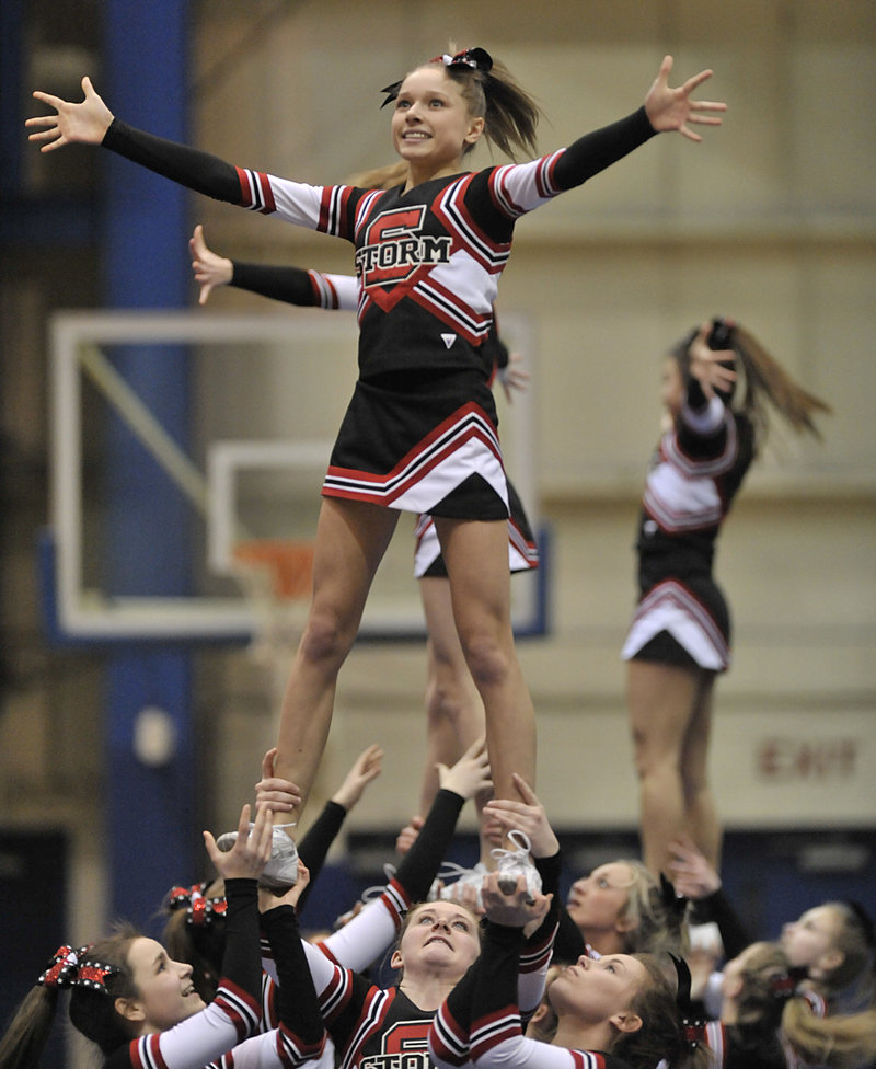 Scarborough didn't finish at the top of the heap in Class A but like every team, put on a dazzling show for family and fans.