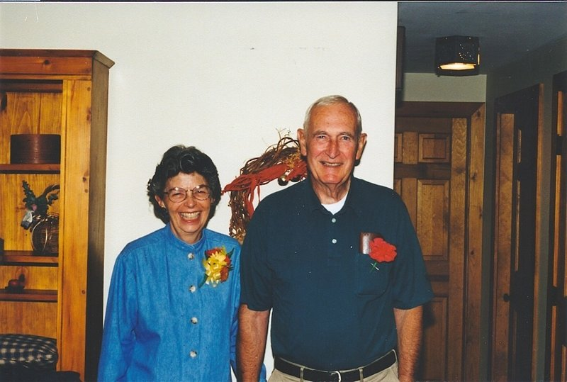 Ernest and Shirley Todd, shown on their 50th wedding anniversary, were married for 63 years.