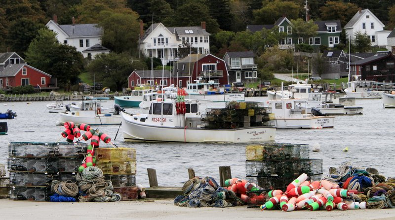 Allowing Maine groundfishermen to land lobsters during the winter would be one step toward bringing the fleet home, the author says.