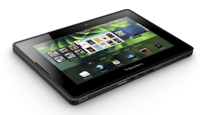 The BlackBerry PlayBook tablet will start selling in the U.S. and Canada on April 19 for $499 to $699.