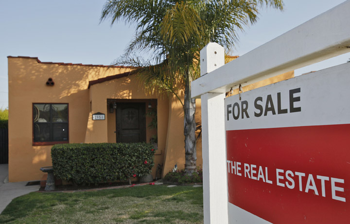 A single-family home is offered for sale in Los Angeles recently.