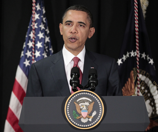President Barack Obama says the U.S. involvement in Libya will be