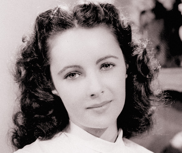 A 1946 photo of Elizabeth Taylor, who was equally famous for her extraordinary beauty and her stormy personal life.