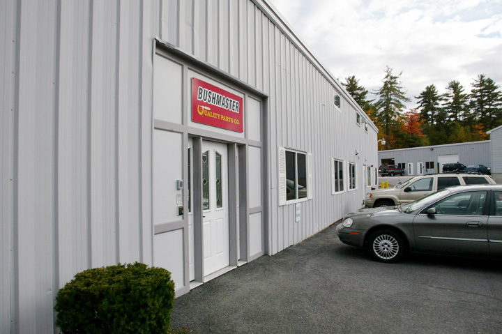 A 2002 file photo of the Bushmaster Firearms factory in Windham.