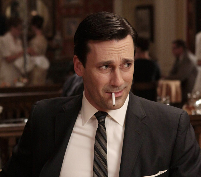 Jon Hamm portrays Don Draper in the AMC series