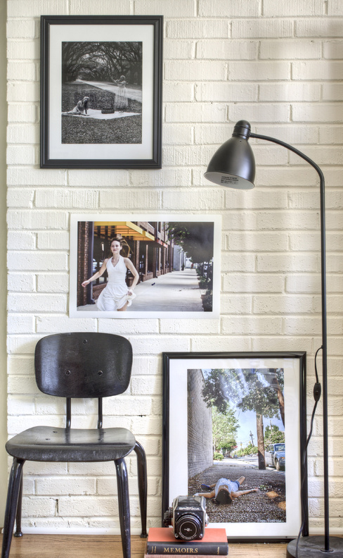 Designer Brian Patrick Flynn suggests painting interior brick white or cream for a softer, sophisticated industrial aesthetic.