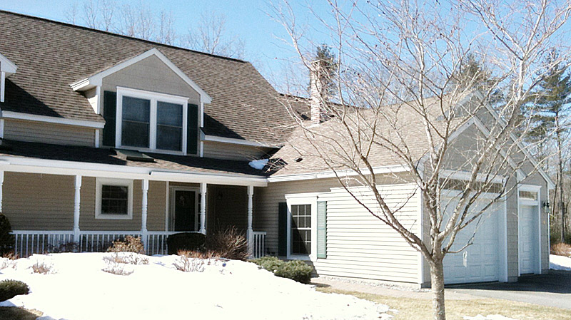 The residence at 16 Nottingham Court in Kennebunk where the shooting took place.