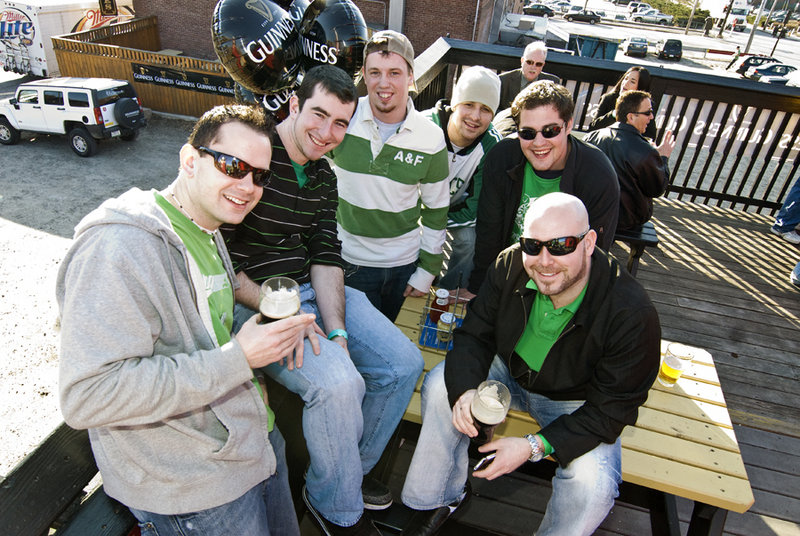 St. Patrick s Day revelers start their day off right with a beer for breakfast at Brian Boru in Portland.
