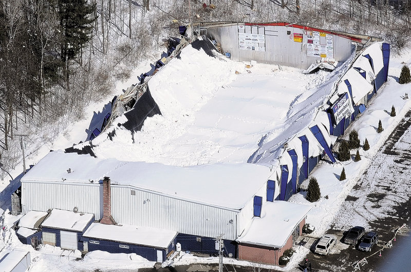 The Kennebec Ice Arena, which was constructed in 1973 in Hallowell to serve as a place for local children to skate and play hockey, spawned numerous activities, including public skating and ice dancing, as well as high school hockey rivalries that drew large crowds in the 1980s. Its roof collapsed March 2.
