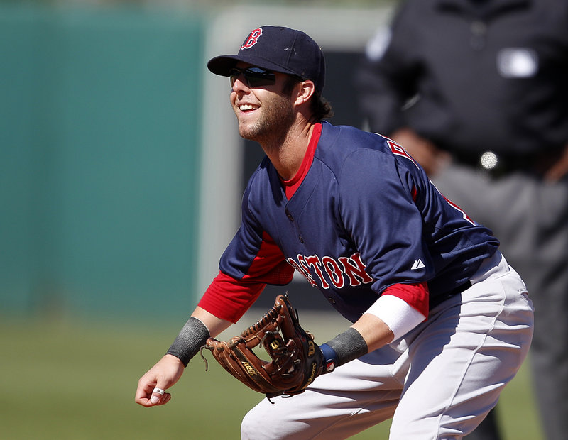 Dustin Pedroia is eager to work on his timing deep into spring training games now that his foot has healed.