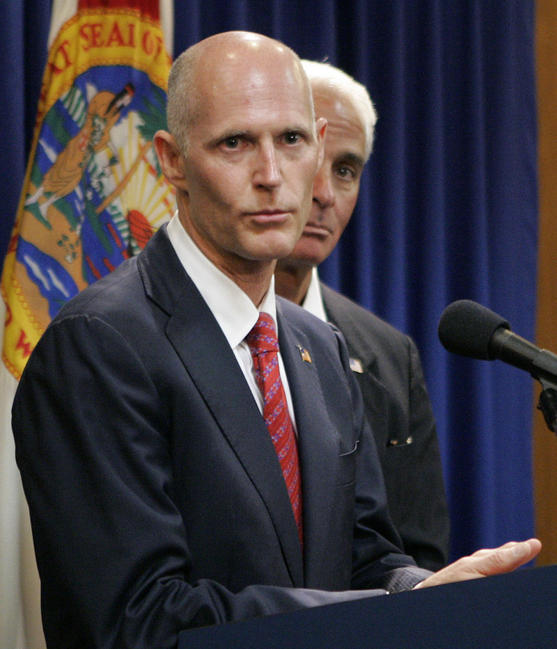 Florida Gov. Rick Scott has taken a step back from his state's generally strong record on transparency. His office has announced plans to charge a fee to fulfill open records requests, a practice allowed by law but waived by the previous governor.