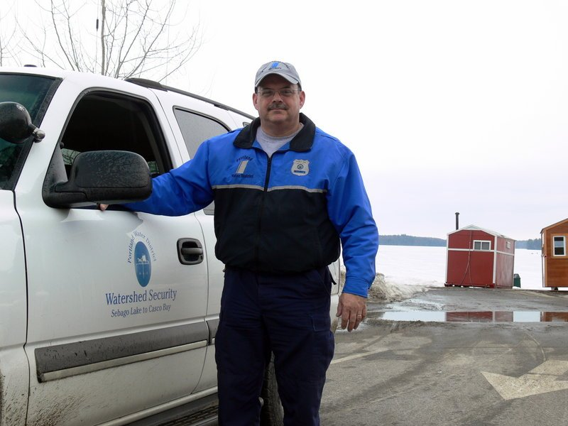 On the job since 2005, Rod Beaulieu is the first security patrol officer Portland Water District has ever had.