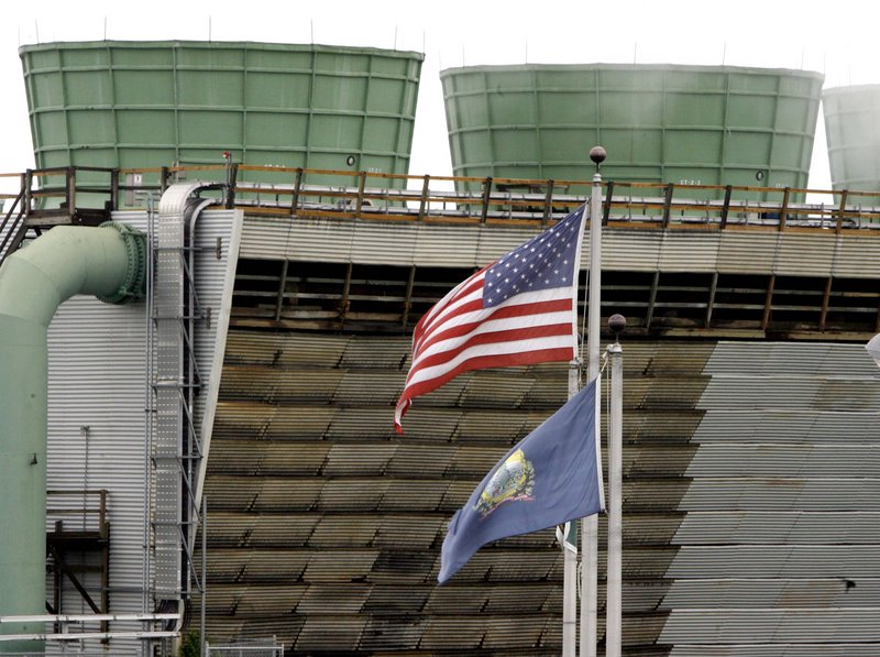 Cooling towers of the Vermont Yankee nuclear power plant are seen in Vernon, Vt., in this photo. The crisis in Japan has led some experts and politicians to question the safety of similar nuclear power plants in the United States.