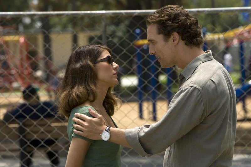 Marisa Tomei and Matthew McConaughey in