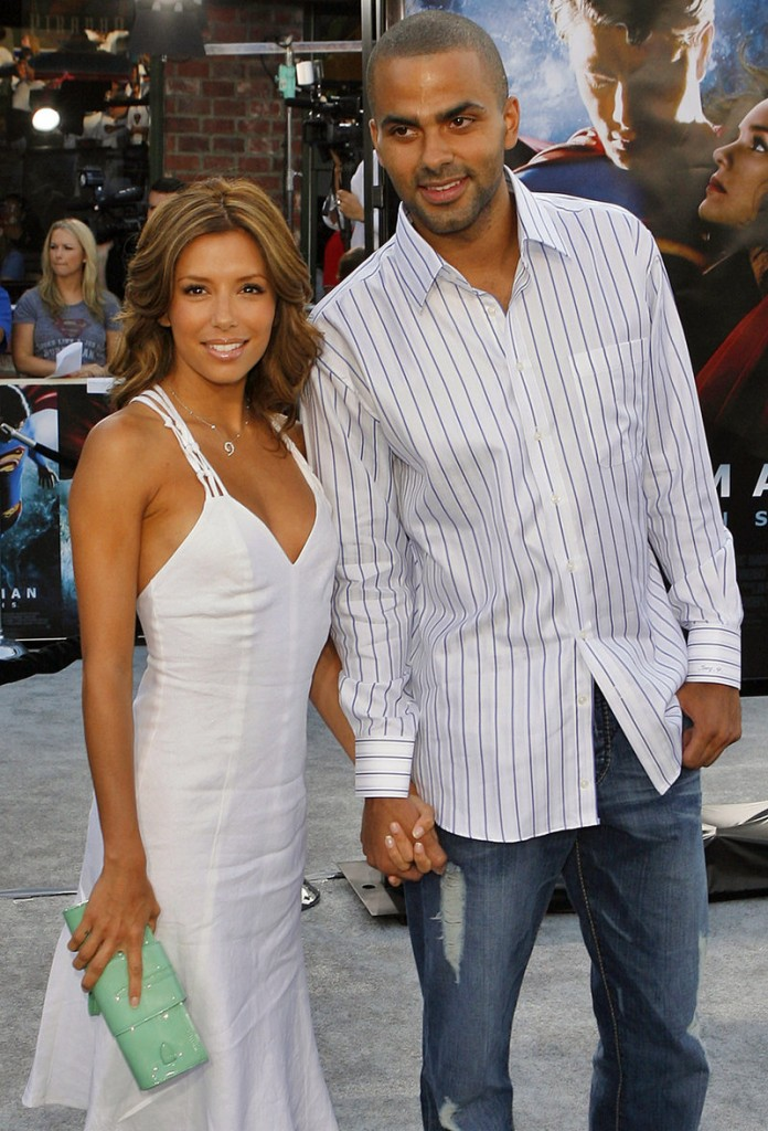 """NO-DRAMA DIVORCE: Actress Eva Longoria is opening up about her divorce from San Antonio Spurs player Tony Parker in the April issue of Allure magazine. The """"Desperate Housewives"""" star said discussing the breakup makes her """"want to cry"""" but she's trying to make the transition """"without any drama."""""""