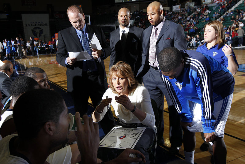 Nancy Lieberman, the first woman head coach of a men's professional basketball team, certainly has a varied resume. She is a silver medal-winning Olympian, college champion, former professional player, and WNBA coach and executive.
