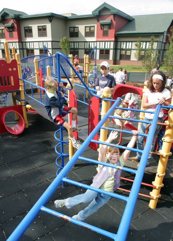 Children on a playground: State law should offer maximum protection for their well-being, a readers says.