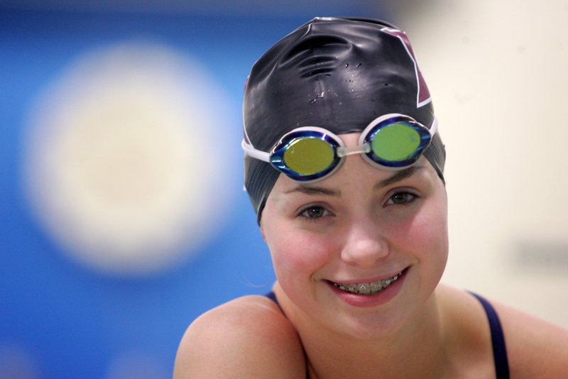 Sarah Easterling of Greely used to play soccer and softball but by the time she was 12, had decided that swimming – not just club but school swimming – was for her.