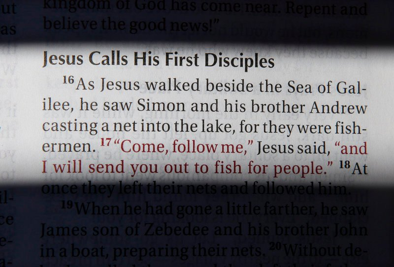 A passage from the New International Version Bible.