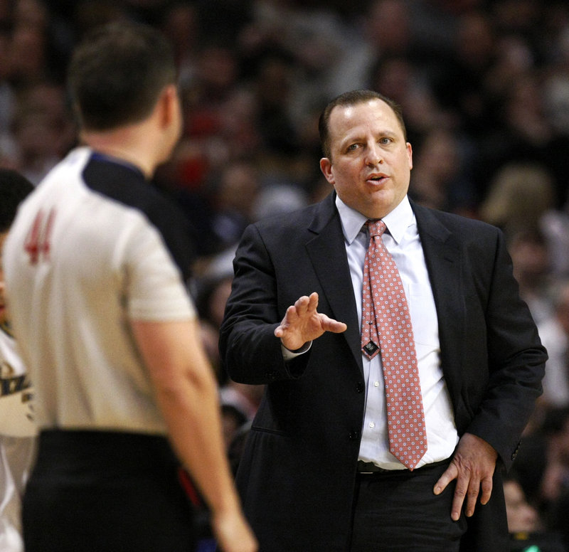 Tom Thibodeau earned the respect of a veteran team as an assistant with the Celtics. Now he's doing the same thing with a young Chicago Bulls team in his first season as a head coach in the NBA.