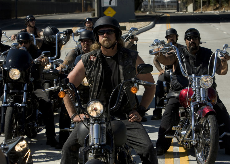 "Country singer Trace Adkins plays a biker in a scene from ""The Lincoln Lawyer,"" which opened Friday. He's on-screen for about three minutes."