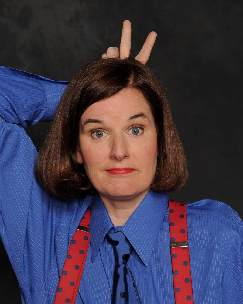 Comedian Paula Poundstone has two Maine appearances this weekend: Friday at the Strand Theatre in Rockland and Saturday at the Stone Mountain Arts Center in Brownfield.
