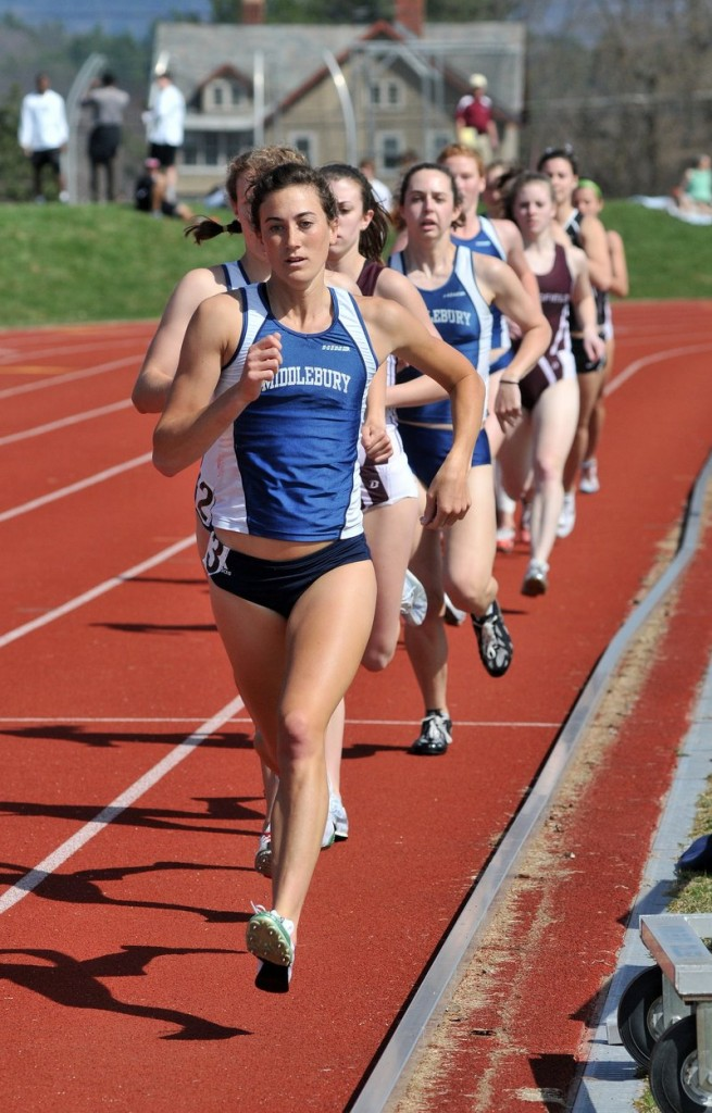 Kaitlynn Saldanha, an 800-meter specialist at Middlebury, capped her senior season with a national title in the distance medley relay.