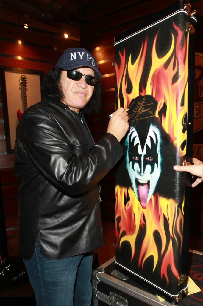 "Gene Simmons of Kiss, who was born in Israel, says he's an Israeli and ""proud of it."""