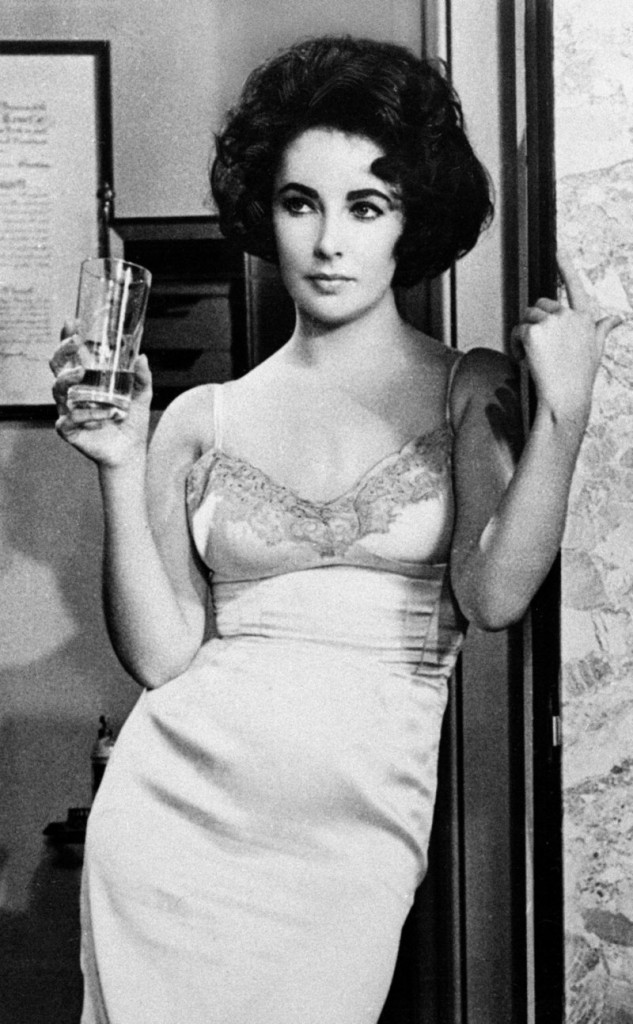 "Elizabeth Taylor appears in the movie ""BUtterfield 8"" in 1961. Her performance as a prostitute in the film earned her one of her three Oscars, this one for Best Actress."