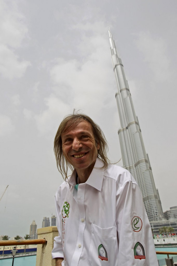 French daredevil Alain Robert has climbed more than 70 skyscrapers, including the Empire State Building, Chicago's Willis Tower and the Petronas Towers in Kuala Lumpur, according to his website.