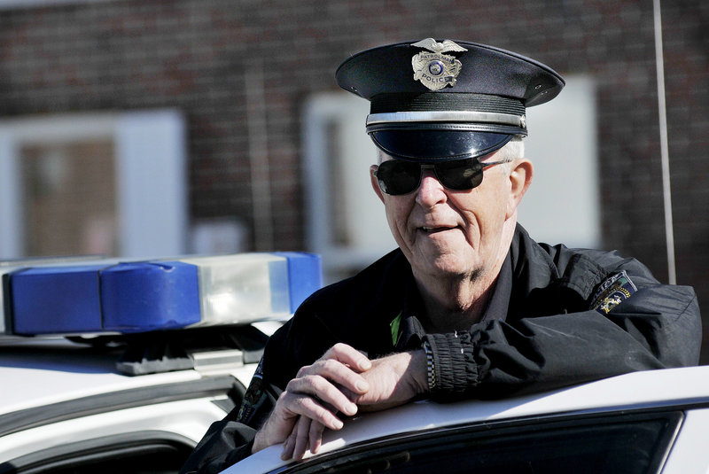 Gorham Police Officer David Kearns is stepping down after 40 years of service. When he was hired, there were four officers on the force, and the population of the town totaled about 5,000.