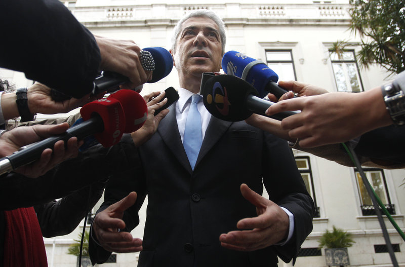 At a news conference Tuesday, Portuguese Prime Minister Jose Socrates denied that his country needs financial help.