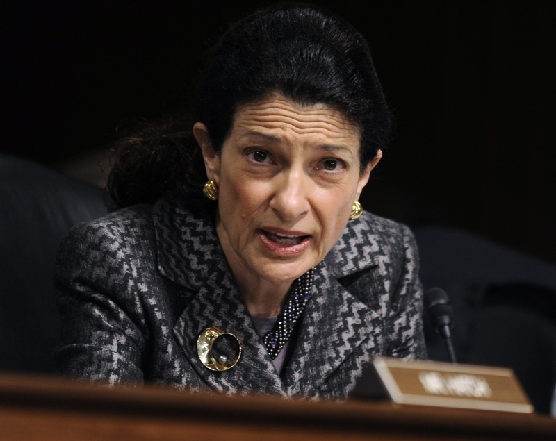 Sen. Olympia Snowe, R-Maine, acted in the best interests of her party's far right, not her constituents, when she voted last week in favor of the federal budget bill.