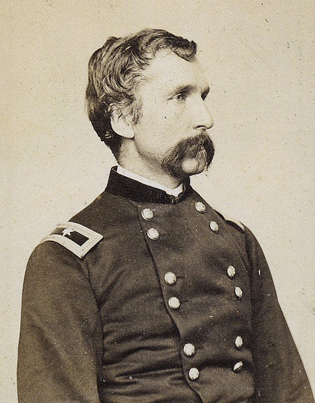 Joshua Chamberlain, one of Maine's favorite sons, is shown in 1864.