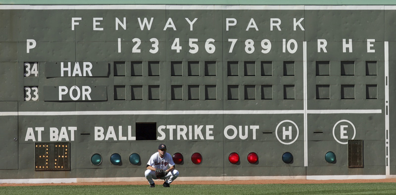 One Fenway feature stands the test of time: the Green Monster.