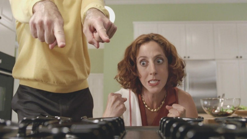Alison Cimmet appeared last year in three national TV advertising campaigns, including for ikea.