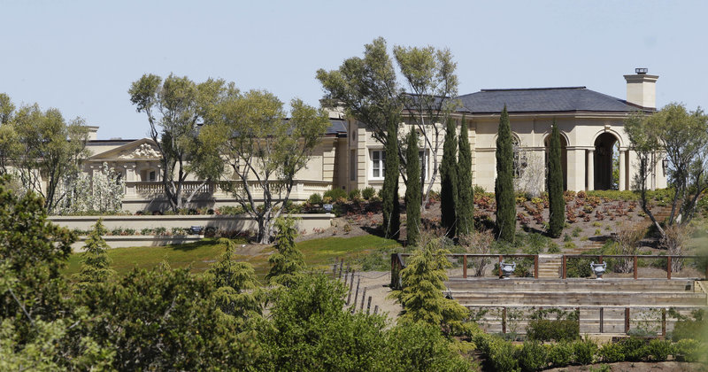 The sale of this 25,500-square-foot mansion in Los Altos Hills, Calif. – complete with ballroom and spa – is believed to be one of the largest in U.S. history for a single-family home.