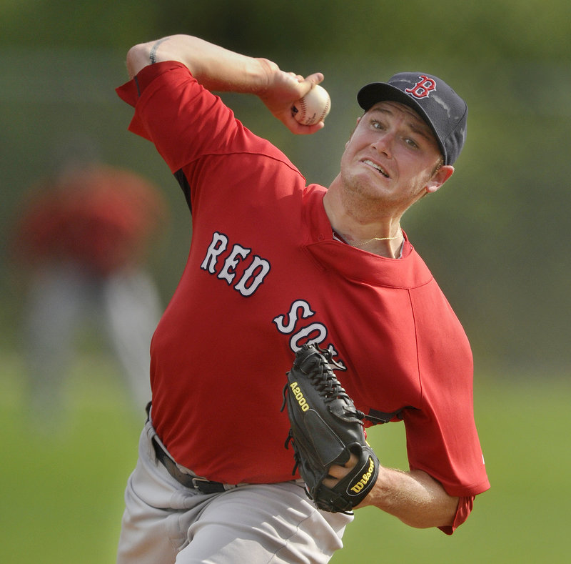 Alex Wilson, who played last season with the Sea Dogs after a promotion from Class A, will unveil his new and growing repertoire tonight as the opening-day starter against the Reading Phillies at Hadlock Field.
