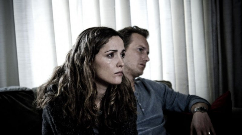 "Rose Byrne plays Renai, the mother forced to confront her fears, while her husband, Josh (Patrick Wilson), deals in denial in James Wan's ""Insidious."""