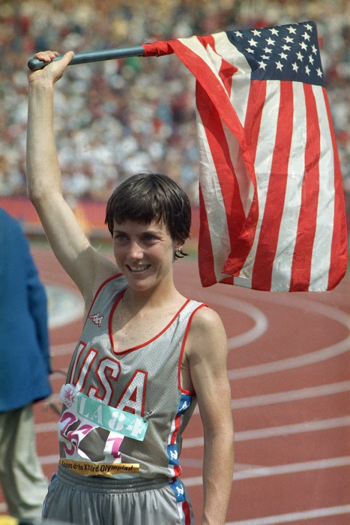 The year was 1984, and Joan Benoit fulfilled her country's hopes by winning the women's marathon in the Summer Olympics in Los Angeles.