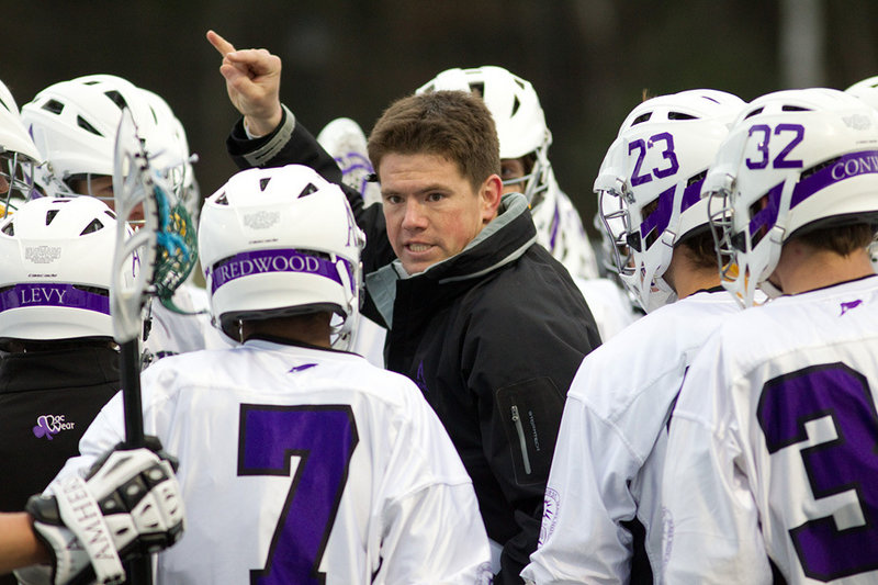 Jon Thompson, as he did at Colby, is teaching his Amherst lacrosse players about a lot more than winning on the field. And as they did at Colby, his players are responding.