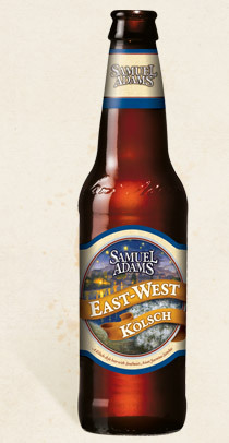 Samuel Adams East-West Koltsch has a floral aroma and a bit of sweetness.